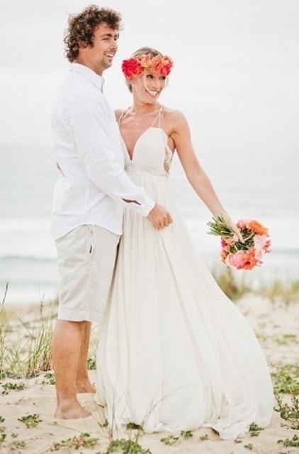 Wedding Dress For Beach Wedding Ideas : Cool beach wedding groom attire ideas weddingomania
