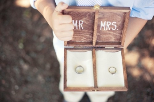 Cool DIY Wooden Box For A Ring Bearer