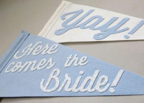 Cool Felt Decor Ideas For Your Wedding