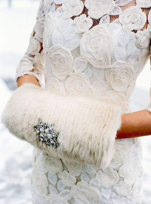 Cool Ideas To Use Fur For Your Wedding