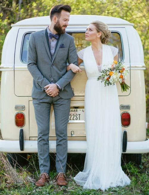 Cool Mid-Century Wedding Inspiration