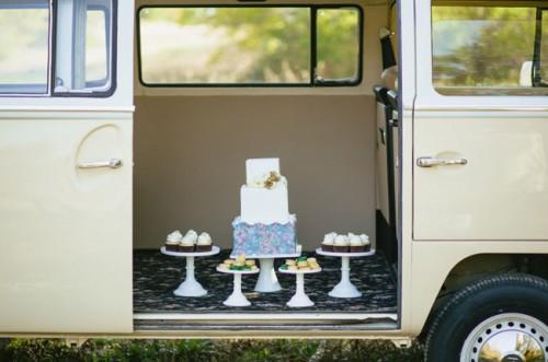 Cool Mid Century Wedding Inspiration