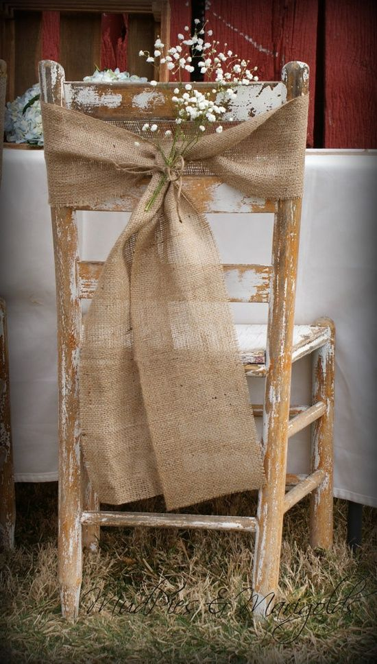 Picture Of cool ways to use burlap for your wedding  31