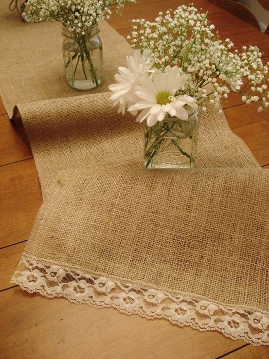 Picture Of cool ways to use burlap for your wedding  34