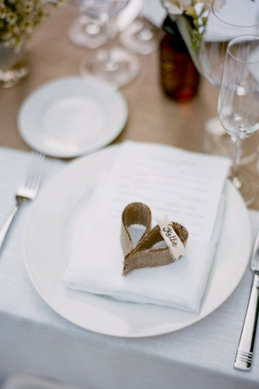 Picture Of cool ways to use burlap for your wedding  36