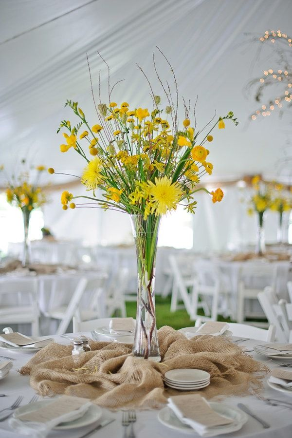 Picture Of cool ways to use burlap for your wedding  45
