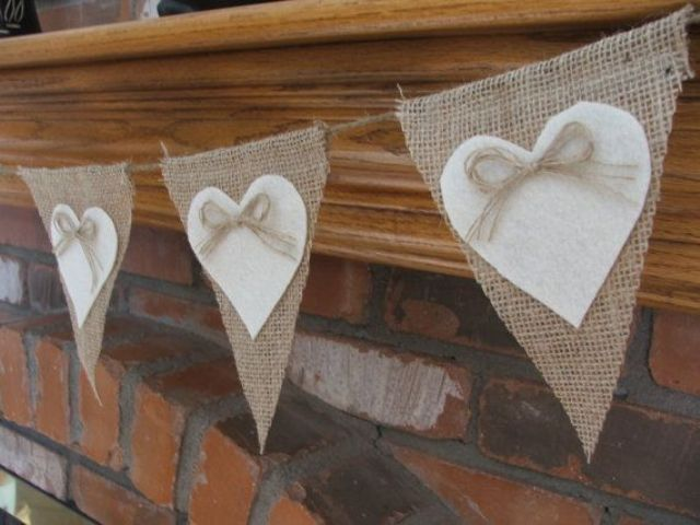 Picture Of cool ways to use burlap for your wedding  47