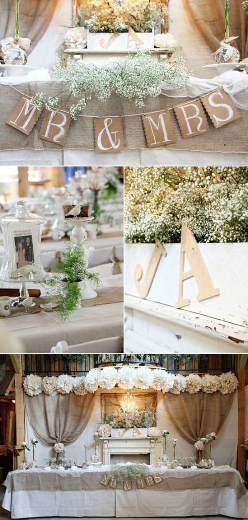 Cool Ways To Use Burlap For Wedding