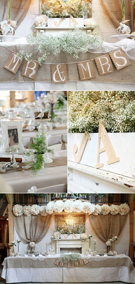 Picture Of cool ways to use burlap for your wedding  5