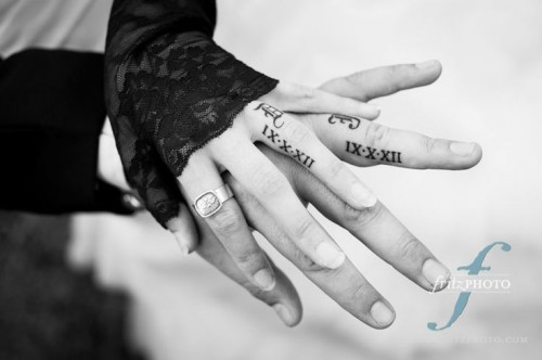 20 Cool Wedding Date Tattoos To Get Inspired