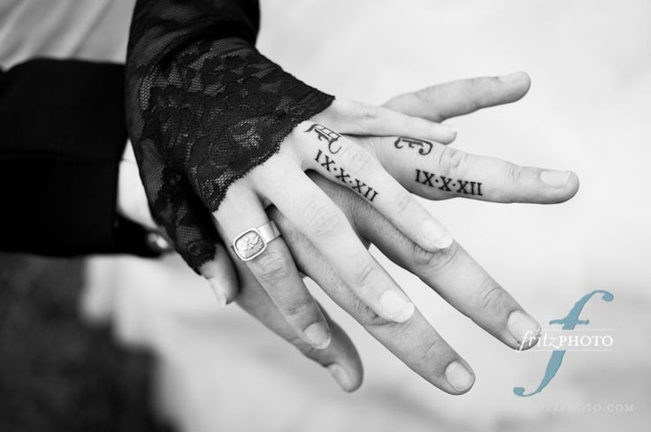 20 Cool Wedding Date Tattoos To Get Inspired - Weddingomania