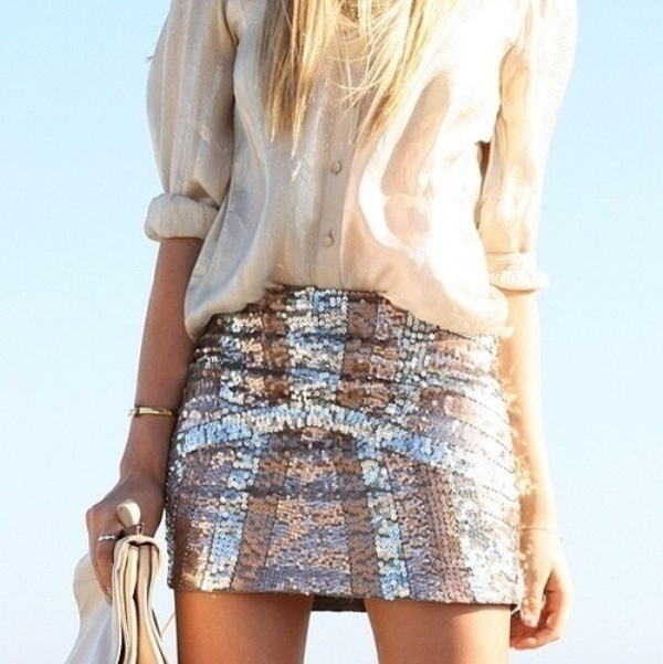 Cool Wedding Fashion Trend 20 Sequin Skirts Ideas To Shine On Your Wedding Party