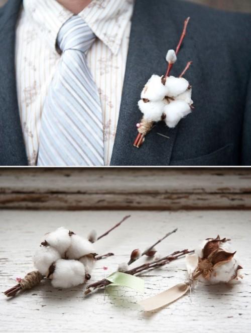 Cotton Wedding Trend: 12 Fresh Ideas