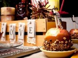 caramelized apples with nuts are a perfect fall wedding or bridal shower treat that helps to embrace the season
