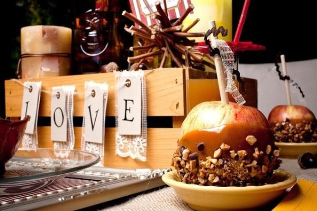 Picture Of Cozy And Sweet Fall Bridal Shower Ideas