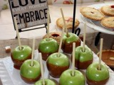caramelized apples are a traditional fall party treat that can be easily DIYed anytime