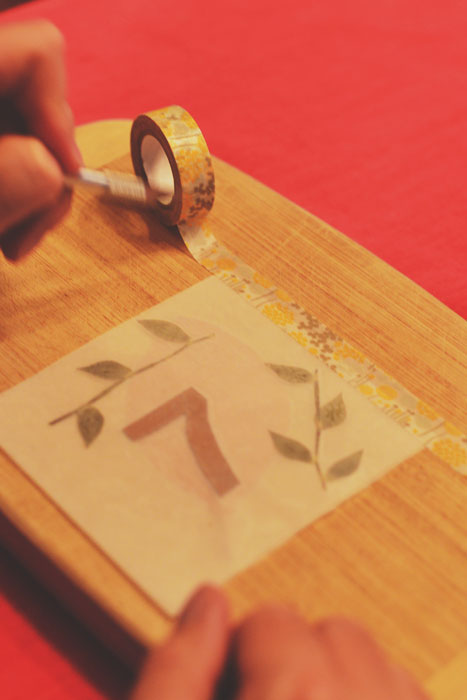 Cozy Diy Illuminated Fall Table Numbers