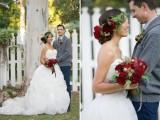 Cozy Rustic Barn Winter Wedding Shoot