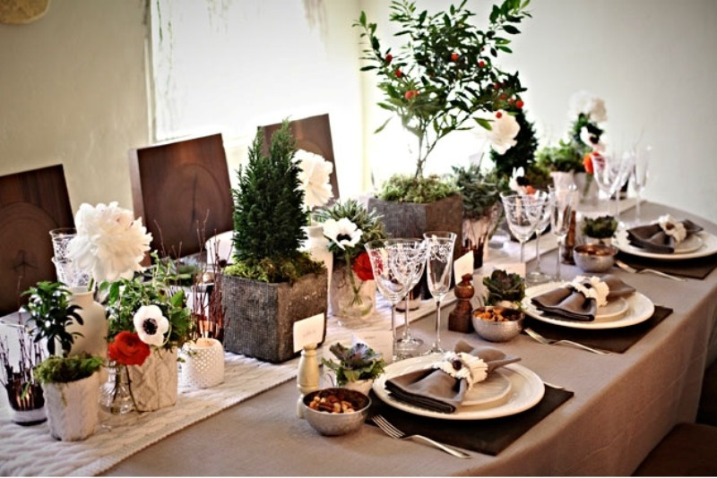 & Picture Of Cozy Winter Decor Ideas For Your Wedding