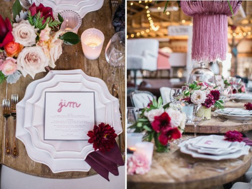 Crafty Wedding Inspiration In A Vintage Warehouse