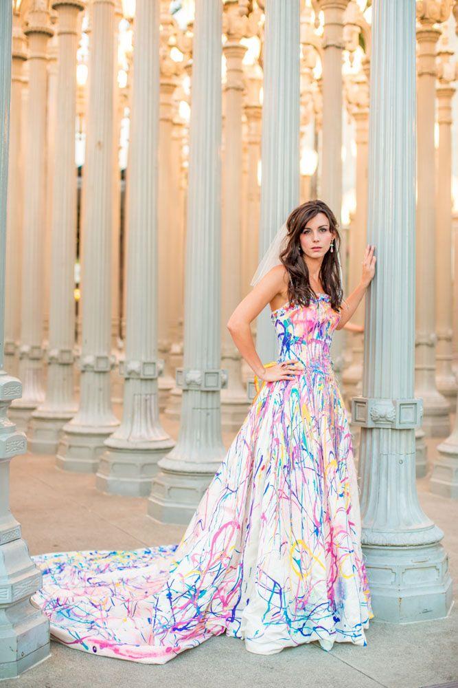 Unique Wedding Gowns 33 Epic Crazy LED Wedding Dresses