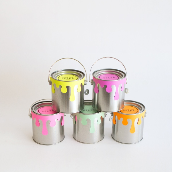 Picture Of creative and cute diy paint can guests favors  1