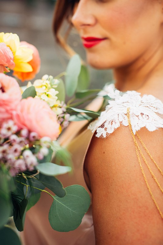 Picture Of creative and vibrant citrus wedding inspiration  7