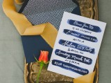 Creative Indigo Dyed Bridal Shower