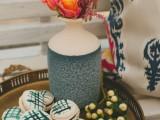 Creative Indigo Dyed Bridal Shower