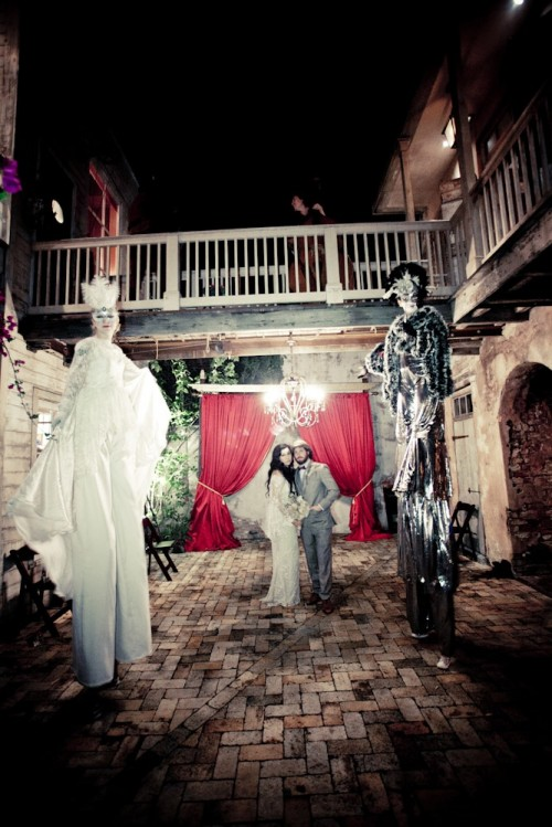 Creative New Orleans Masquerade Wedding