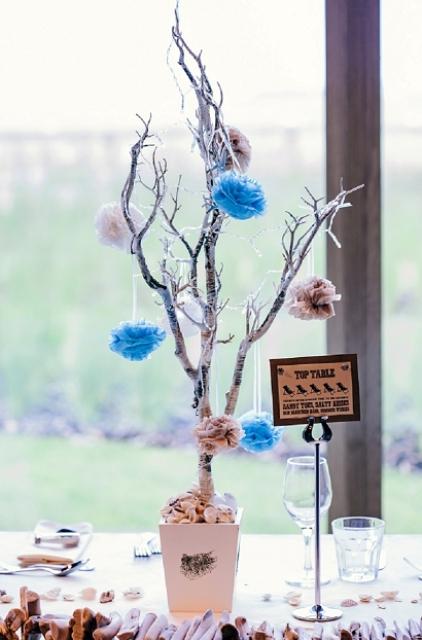 Creative non floral wedding centerpieces weddingomania