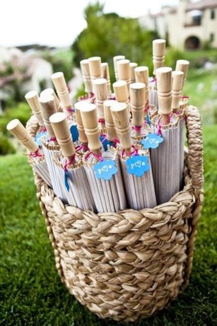 Summer Wedding Favor Ideas Diy : 35 Creative Summer Wedding Favors IdeasWeddingomania