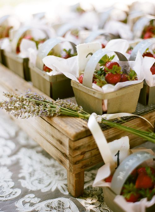 Summer Wedding Favor Ideas