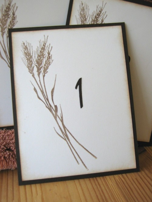 a fall card with wheat is a gorgeous rustic decoration you can easily print anytime