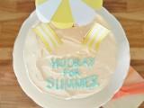 Cute Diy Beach Themed Wedding Cake Toppers