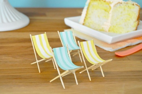 Cute Diy Beach Themed Wedding Cake Toppers