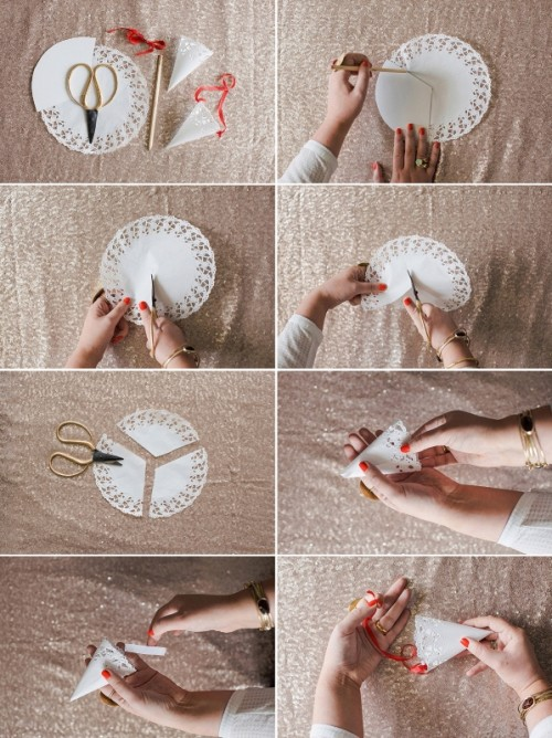 Cute DIY Confetti Cones For Your Wedding