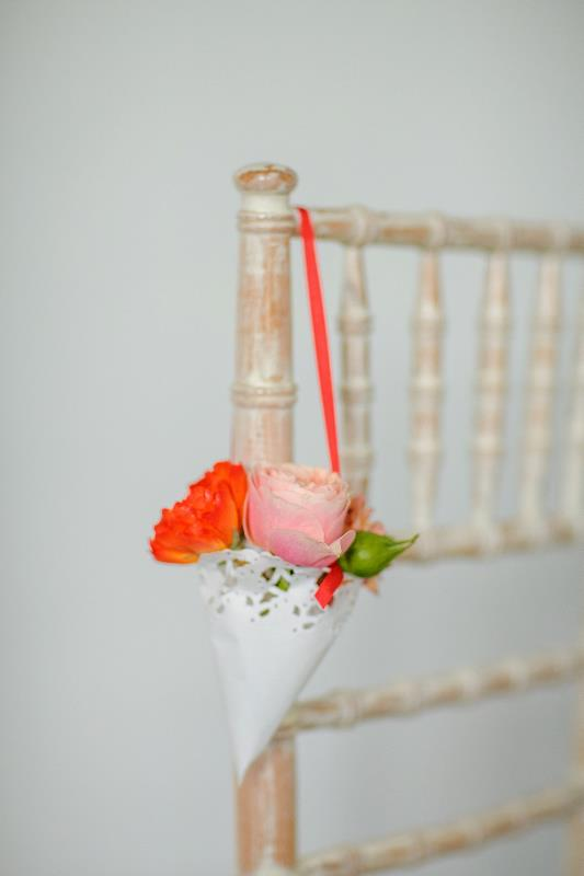 Picture Of cute diy confetti cones for your wedding  3