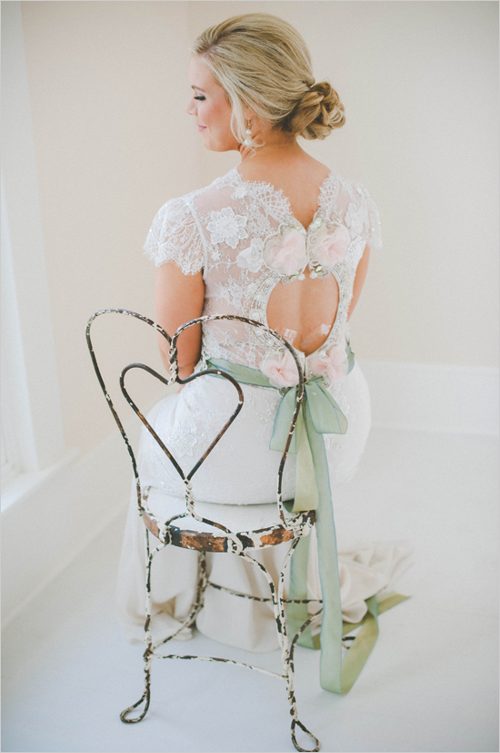 Picture Of cute vintage home sweet home wedding  1