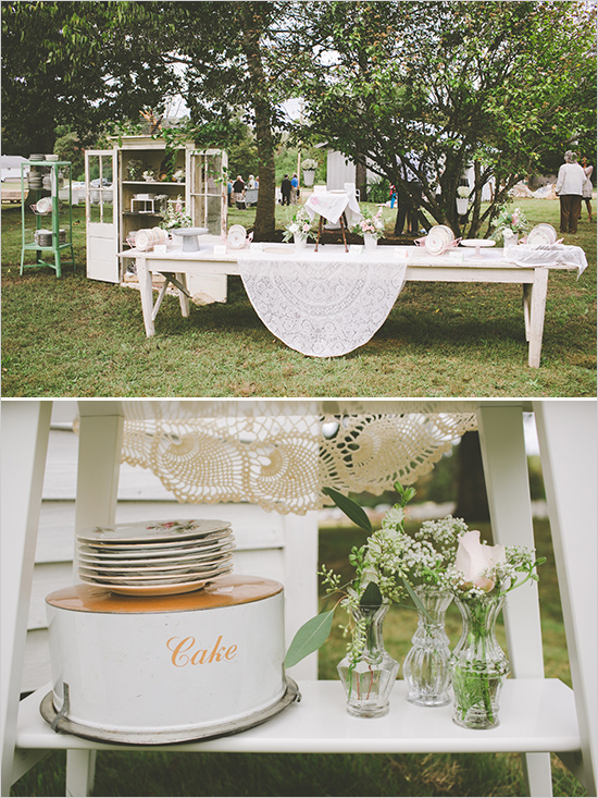 Picture Of cute vintage home sweet home wedding  12