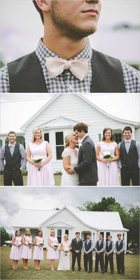 Picture Of cute vintage home sweet home wedding  5