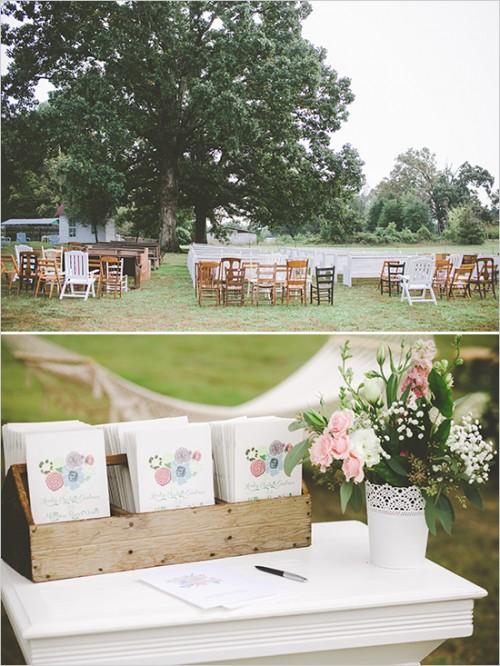 Cute Vintage 'Home Sweet Home' Wedding
