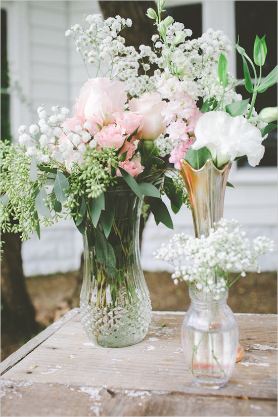 Picture Of cute vintage home sweet home wedding  9