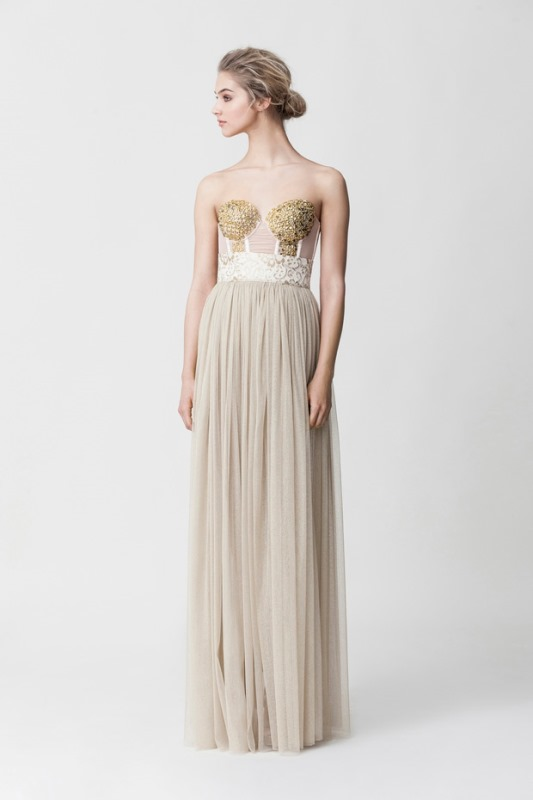 Picture Of daring yet feminine wedding dresses collection by makany marta  1