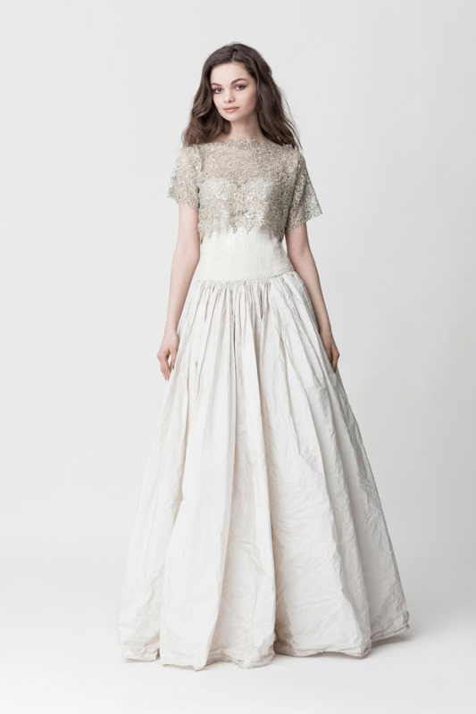 Picture Of daring yet feminine wedding dresses collection by makany marta  11