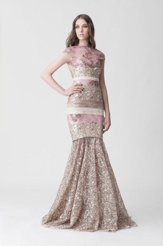 Picture Of daring yet feminine wedding dresses collection by makany marta  13