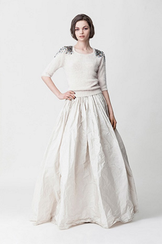 Picture Of daring yet feminine wedding dresses collection by makany marta  2