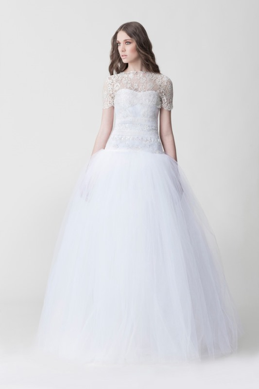 Picture Of daring yet feminine wedding dresses collection by makany marta  4