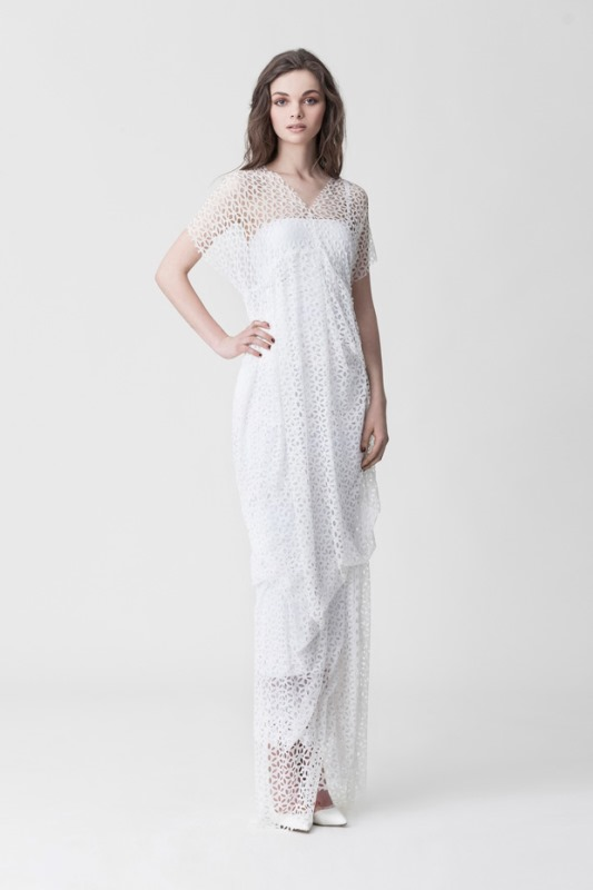 Picture Of daring yet feminine wedding dresses collection by makany marta  5