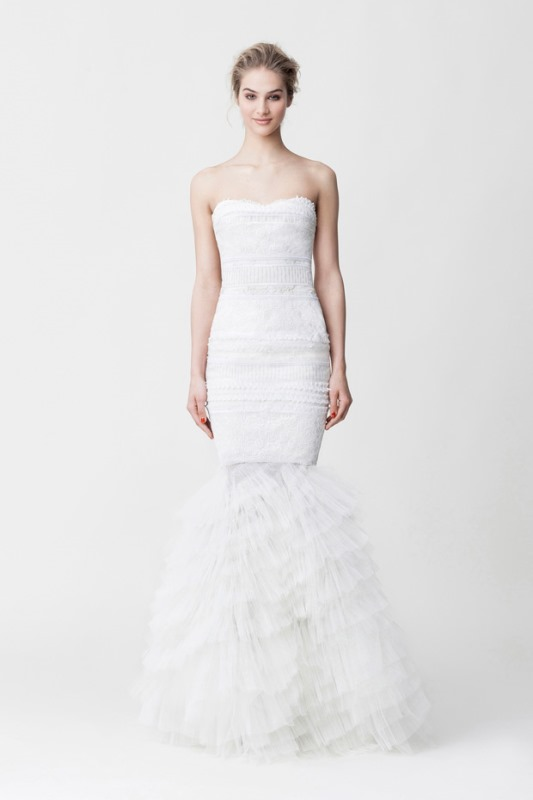 Picture Of daring yet feminine wedding dresses collection by makany marta  6